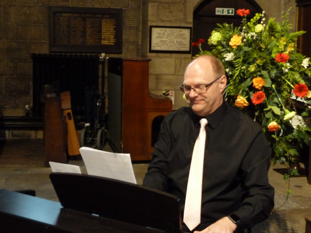 Accompanist Martin Baker